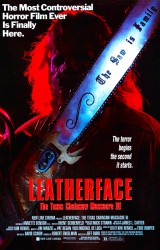 Leatherface Texas Chainsaw Massacre 3 Poster