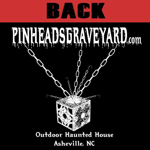 Pinhead's Graveyard - T-Shirt Back