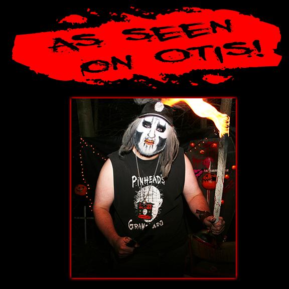 Pinhead's Graveyard - T-Shirt & Hat as seen on Otis!