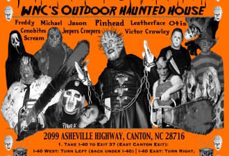 The Infamous Pinhead's Graveyard Orange 2014 Flyer
