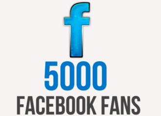 5000 Facebook Likes & Growing!!!