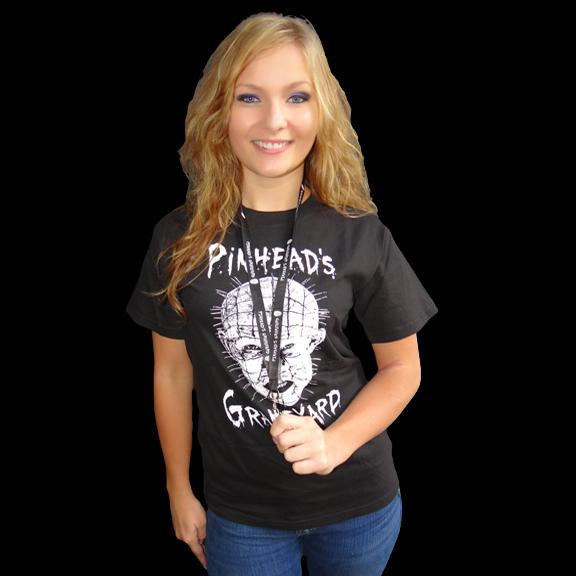 Pinhead's Graveyard Lanyard