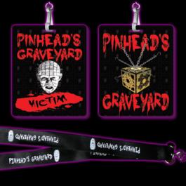 Pinhead's Graveyard Victim & Lanyard