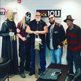 Pinhead's Graveyard & R.A. Mihailoff on The Rise Guys Morning Show!