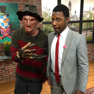 Freddy from Pinhead's Graveyard and Studio 62 host Jamarcus Gaston