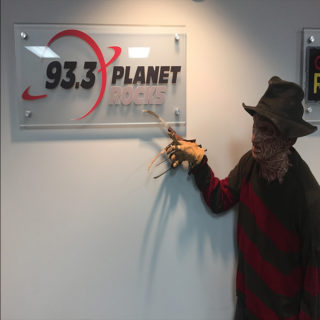 Freddy Krueger on the Rise Guys Morning Show!