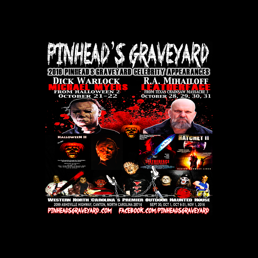 2016 celebrity appearances are approaching! | pinhead's graveyard