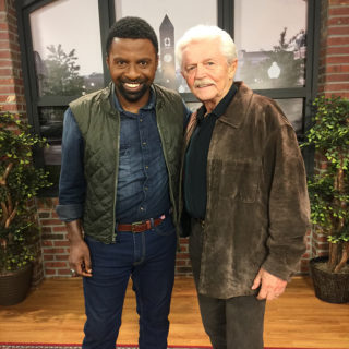 Dick Warlock and Studio 62 host Jamarcus Gaston