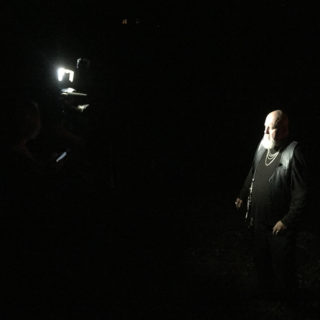 WLOS News 13 R.A. Mihailoff Interview at Pinhead's Graveyard